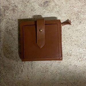 Madewell Brown Card Wallet